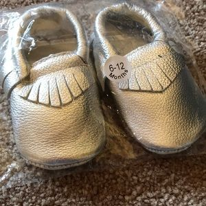 Other - New in bag silver slipper shoes